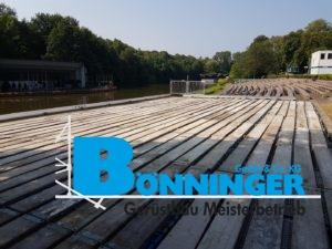 Veranstaltung Tribünen Bühne See Seepark Westfalenpark Dortmund