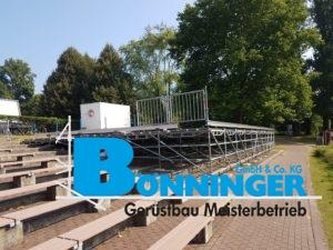 Geländer Menschen Park Natur Dortmund Bühne