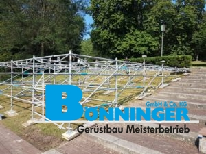 Bühnenbau Kino im Park Dortmund Bönninger Westfalenhalle