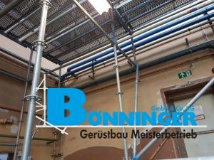 NRW Kettwig Wülfrath Wuppertal Abbruch Gerüst Schutzgerüst