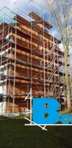 Gerüstbauarbeiten Dachdeckerarbeiten Fassadenarbeiten Marl Wohnungsgesellschaft