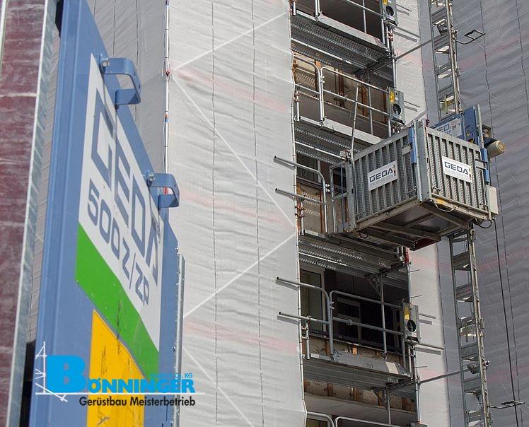 GEDA Bauaufzug & Transportbühne – Bönninger Dortmund