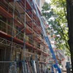 Gerüstbau Bönninger Referenz Neubau Ärzte- und Gesundheitszentrum