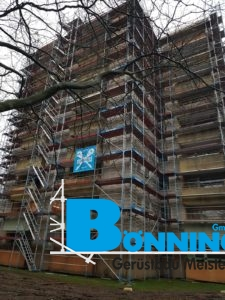 Gerüstbau Bönninger Referenzprojekt Aubenastraße Schwarzenbeck