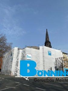 Gerüstbau Bönninger Referenzprojekt Westring Bochum