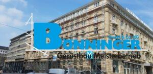 Gerüstbau Bönninger Referenzprojekt Düsseldorf Steigenberger Hotel