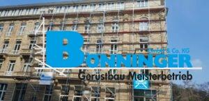 Gerüstbau Bönninger Referenzprojekt Düsseldorf Steigenberger